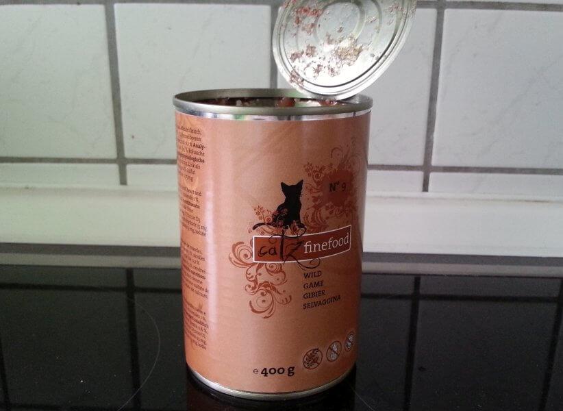 Catz Finefood - Dose von vorne