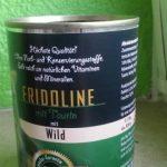 Katzenfutter-Test: Fridoline mit Wild