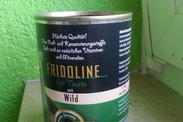 Fridoline mit Wild - Katzenfutter Nass
