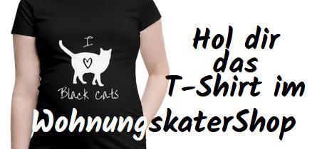 Hol dir das T-Shirt im WohnungskaterShop